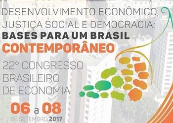 XXII Congresso Brasileiro de Economia: confira os destaques do terceiro dia