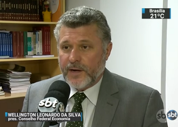 Wellington Leonardo avalia os dados do CAGED em matéria do SBT