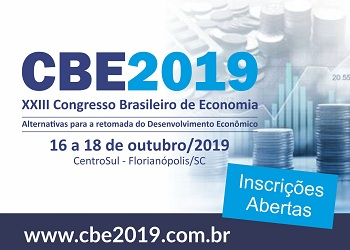 Garanta sua vaga no 23º Congresso Brasileiro de Economia