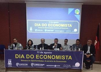 Presidente participou de eventos comemorativos ao Dia do Economista