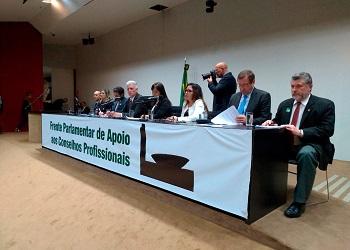 Cofecon participou da Frente Parlamentar em Apoio aos Conselhos Profissionais