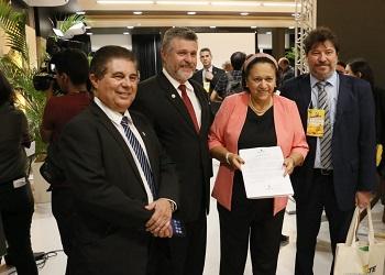 Presidente entrega nota a governadores do Nordeste