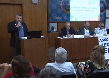 Presidente participou do lançamento da ABED-RJ