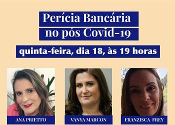 Corecon-RS realiza live sobre Perícia Bancária