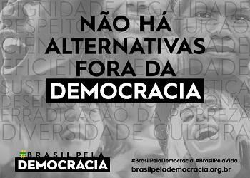 Cofecon articula e apoia a campanha Brasil pela Democracia e pela Vida