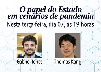 Corecon-RS promove live sobre o papel do Estado em cenários de pandemia
