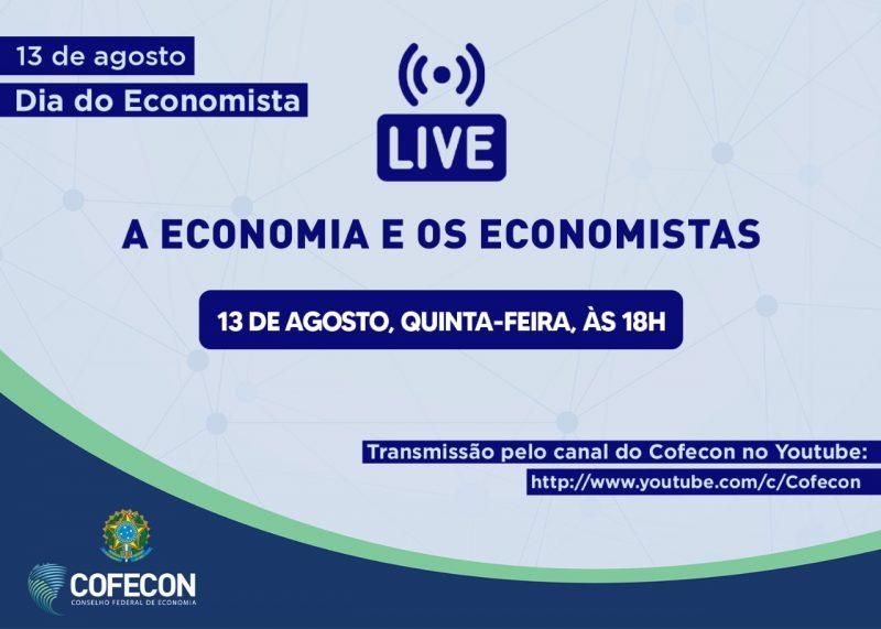 Live comemorativa do Dia do Economista
