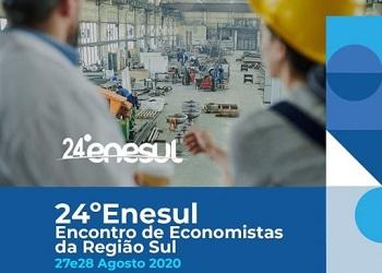Nesta semana, economistas de referência nacional estarão reunidos no 24º Enesul para debaterem a atual política econômica
