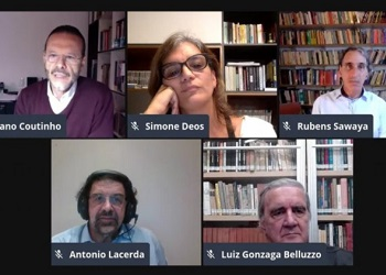 """Presidente do Cofecon participou de lançamento virtual do livro """"Celso Furtado: os combates de um economista"""""""