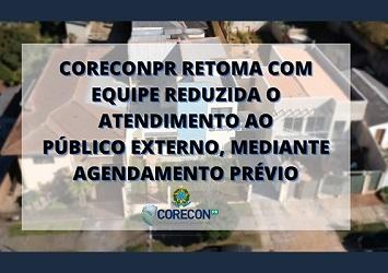 Corecon-PR retoma atendimento presencial agendado
