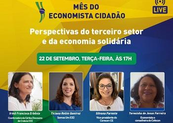 Indicadas ao Prêmio Mulher Transformadora discutem perspectivas do terceiro setor e da economia solidária