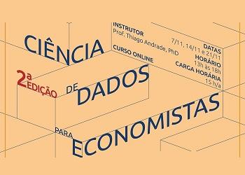 Corecon-PE promove a segunda edição do curso Ciências de Dados para Economistas