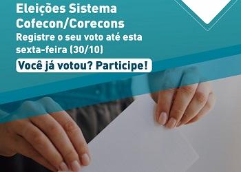 #VotaEconomista! Participe das Eleições do Sistema Cofecon/Corecons