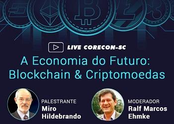 Live promovida pelo Corecon-SC discutirá economia do futuro
