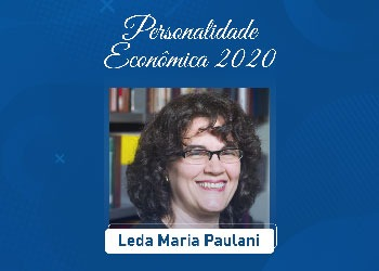 Leda Maria Paulani é escolhida Personalidade Econômica do Ano 2020
