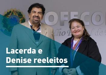 Antonio Corrêa de Lacerda e Denise Kassama são reconduzidos à presidência do Cofecon