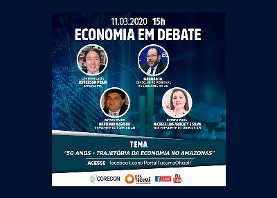 Corecon-AM retoma o programa Economia em Debate