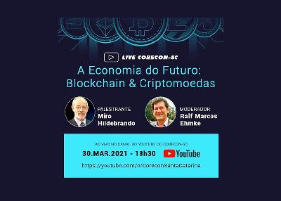 Corecon-SC promove live sobre a economia do futuro