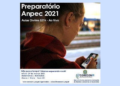 Corecon-RJ oferece curso de Atualização em Economia: Preparatório para o exame da Anpec 2021