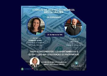 Corecon-SP realiza V Fórum da Mulher Economista