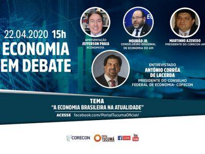Presidente do Cofecon participará do Economia em Debate