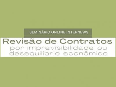"""Presidente do Cofecon discute o tema """"Revisão de contratos por Imprevisibilidade ou Desequilíbrio Econômico"""""""