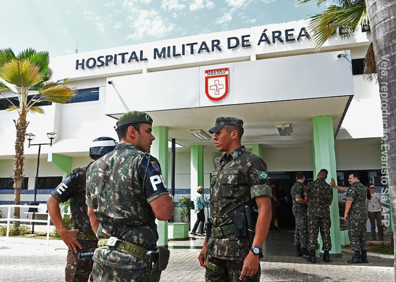 Lacerda fala sobre crise com os hospitais militares