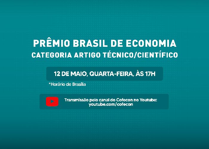 Live: Benito Salomão fala sobre o Prêmio Brasil de Economia