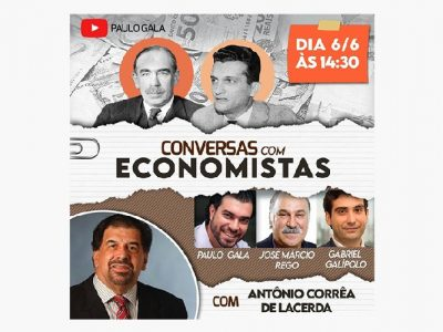 """Presidente participará de live """"Conversas com Economistas"""""""