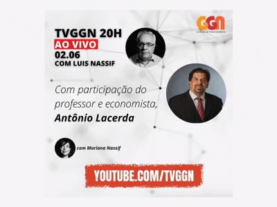 Lacerda participará de debate com Luis Nassif na TVGGN
