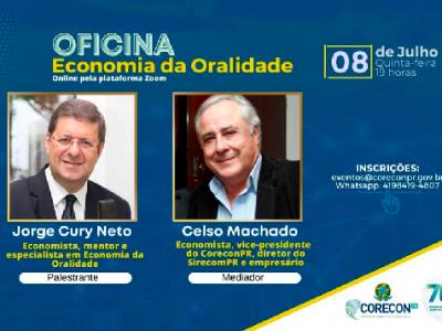 Oficina Economia da Oralidade em evento virtual na próxima quinta-feira