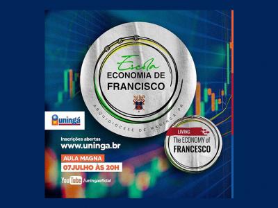 Curso gratuito sobre a Economia de Francisco encerra as inscrições hoje