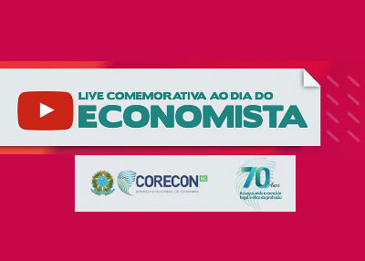 Série de lives do Corecon-SC comemora Dia do Economista