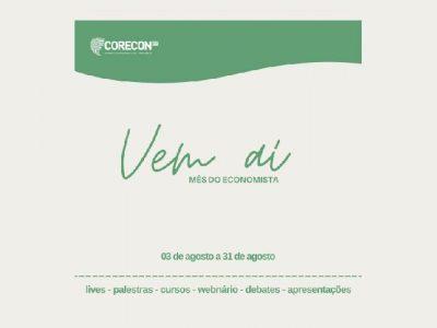 Corecon-DF promove mês do economista