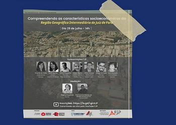 FJP apresenta características socioeconômicas da região de Juiz de Fora