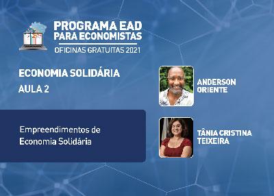 Valendo Certificado: Empreendimentos de Economia Solidária terão destaque na 2ª aula da oficina gratuita