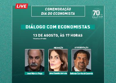 Diálogo com economistas marca o Dia do Economista no Cofecon