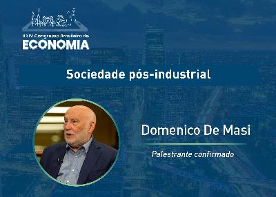 Domenico de Masi fala sobre a sociedade pós-industrial