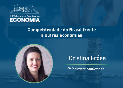"""Cristina Fróes aborda competitividade: """"temos que investir em infraestrutura"""""""