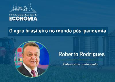 Roberto Rodrigues afirma que não haverá paz enquanto houver fome