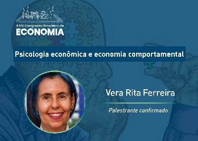"""Vera Rita Ferreira fala sobre finanças comportamentais: """"Somos emocionais"""""""